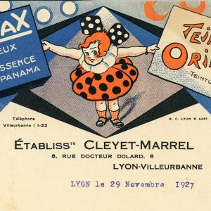 courrier de Cleyet-Marrel (1927)