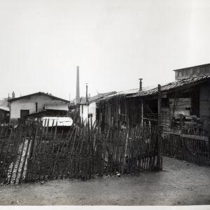 Habitat pr�caire, rue de France, 1932 - 1934