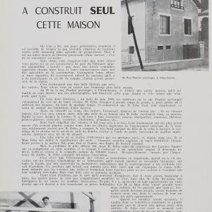 Article de la Vie Lyonnaise, avril-mai 1959