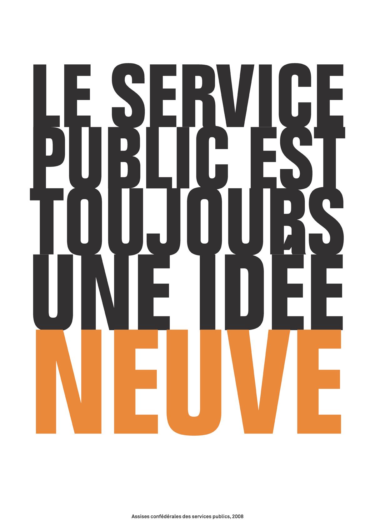 Le service public est toujours une idée neuve