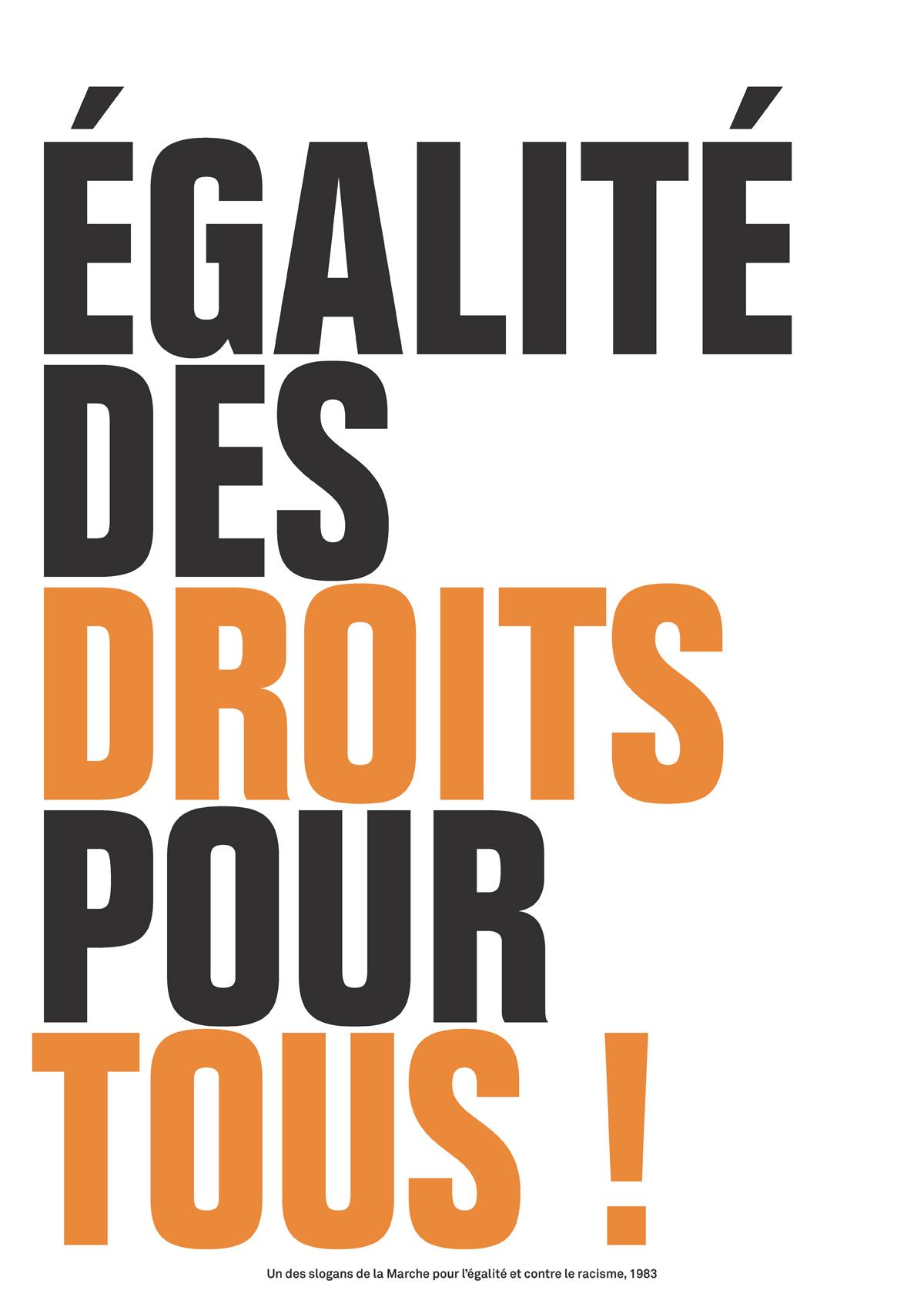 Égalité des droits pour tous