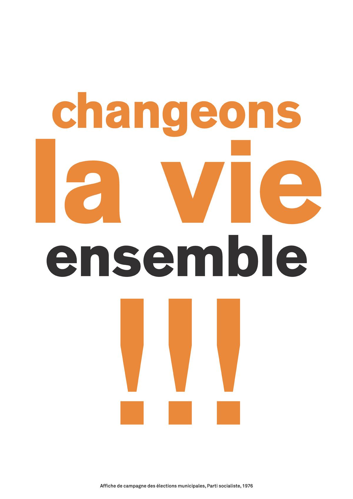 Changeons la vie, ensemble !