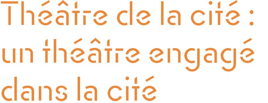 Quand Roger Planchon et ses amis (Isabelle Sadoyan, Jean Bouise, Claude Lochy…) n'en peuvent plus de l'étroitesse de leur salle lyonnaise et du manque d'intérêt de la municipalité, ils trouvent bon accueil à Villeurbanne de la part d'Étienne Gagnaire. Logé à partir de 1957 au Théâtre de la cité ouvrière, Planchon obtient le statut de troupe permanente pour ses comédiens en 1959. Sous l'appellation raccourcie de Théâtre de la Cité, l'institution va au-devant de nouveaux publics en ciblant des comités d'entreprises, des associations, des jeunes et en programmant au-delà du théâtre : musique classique, jazz, chanson, danse, cinéma… Ce n'est donc pas un hasard si ce partisan d'un théâtre au cœur de la ville accueille en mai 1968 ses collègues directeurs pour en faire un foyer de débats.