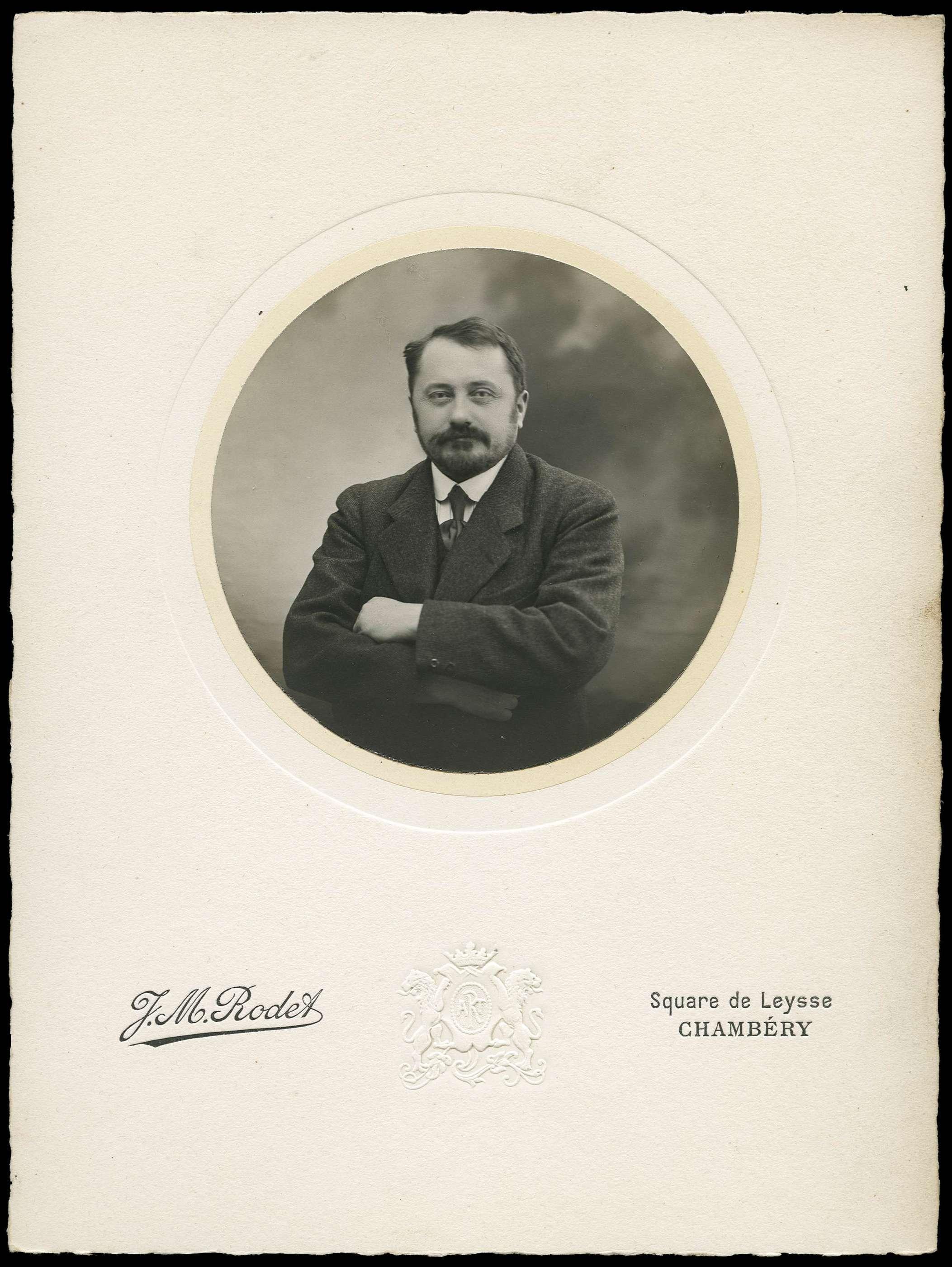 Portrait de Jules Grandclément.
