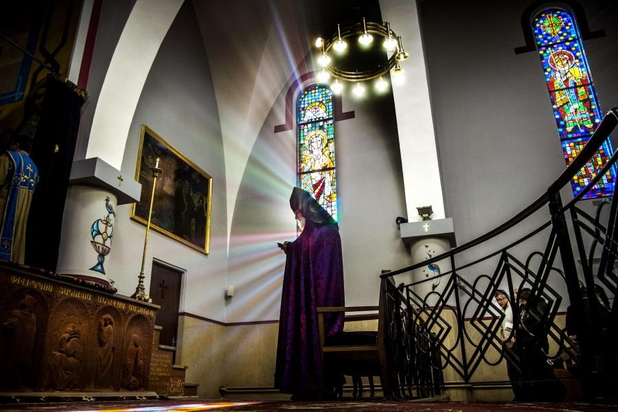 Église apostolique arménienne Saint-Jacques de Lyon © Bruno Ansellem