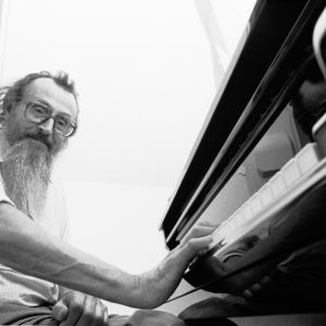 Antoine Duhamel au piano
