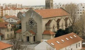 L'église restaurée en 1996