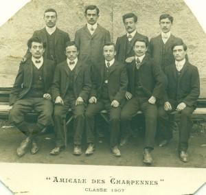 L'Amicale des Charpennes en 1907
