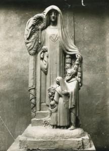 Maquette de Jean Chorel, 1925 (1M130, AMV Le Rize)