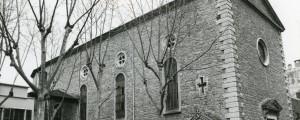 L'église en 1990. Photo D. Devinaz