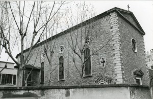 L'église en 1990. Photo D. Devinaz