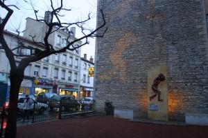 Square des Déportés, rue Léon Blum, photo Michallet