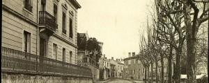 la place de Cusset en 1918
