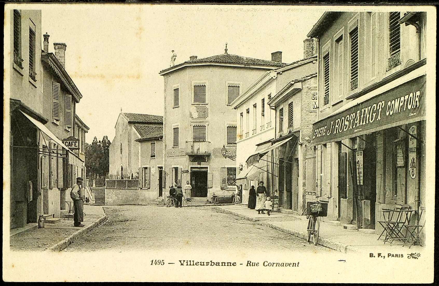Quartier de cusset le rize for Garage rue des bienvenus villeurbanne