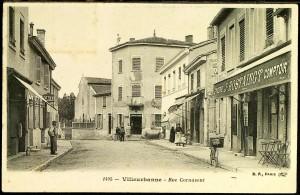 la rue Cornavent avant 1914 (aujourd'hui P. Baratin)