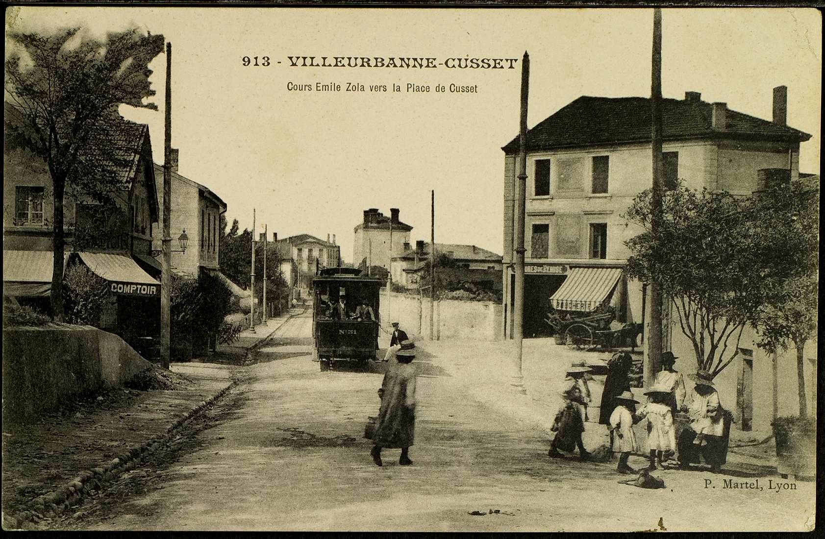 Quartier de cusset le rize for Garage du tram villeurbanne
