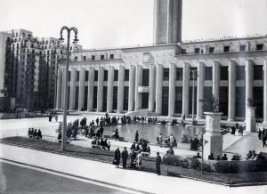 La place Albert-Thomas en 1934 (photo Sylvestre)