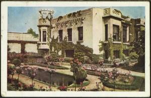 Villa Lafont, carte postale (2Fi121)