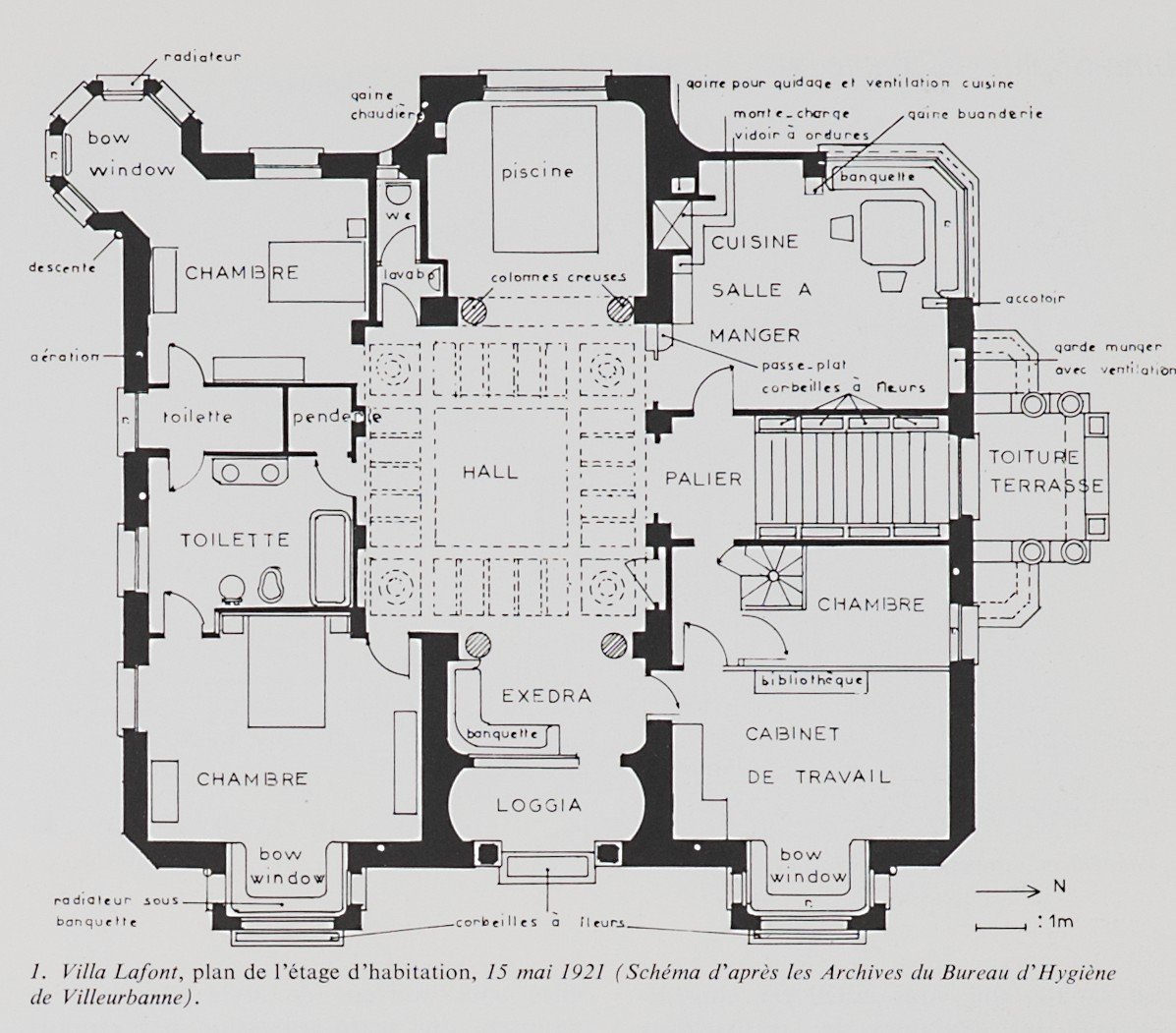 Les plans des villas modernes maison moderne for Les plans des villas modernes