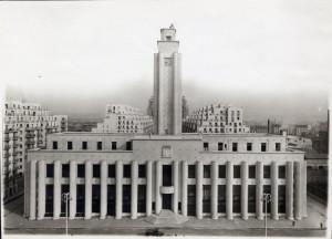 Hôtel de ville, façade sud, imp. Arnaud (4Fi370)