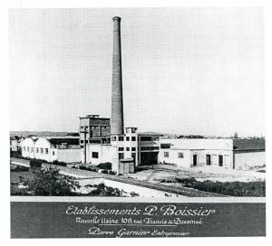 L'usine Boissier rue de Pressensé à la fin des années 1920
