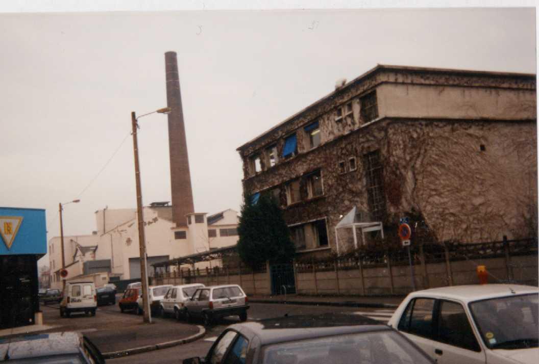 Chemin e du parc du centre le rize - Demolition cheminee ancienne ...