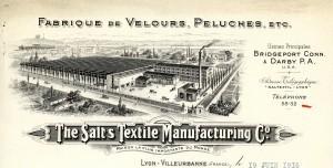 papier en tête de la SALT en 1916