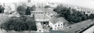 les bâtiments de J.-B. Martin en 1977 (photo D.Devinaz)