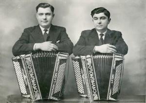 Pietro et Ermanno, les fils de Domenico Cavagnolo (AMV 2Fi501)
