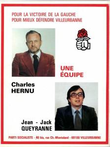 dernière page du suppl. au périodique du parti socialiste Changer la vie, n°3 (1978)