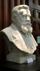 Buste de Jean Jaurès réalisé par Roméo Rigola en 1921 (photo C. Moulin)