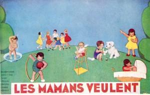 Jardin des Tout-petits : fresque de Dettre (1932) (AMV 4R22)