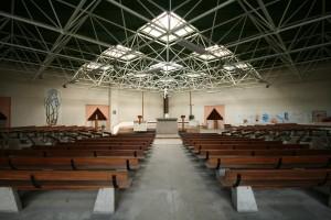 Eglise Notre-Dame de l'Espérance, vue intérieure - photo Mélanie Meynier-Philip (25 avril 2016)