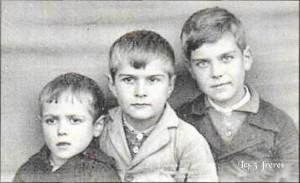 Les 3 frères Chabroux (arch. familiales)