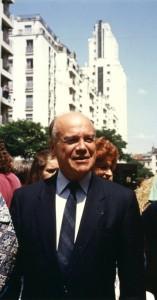 Le maire aux Gratte-Ciel (Ph. G. Michallet)