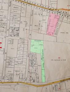 plan cadastral (années 1930) : 286 cours Emile Zola et 175 rue du 4 août (6Fi 1070)