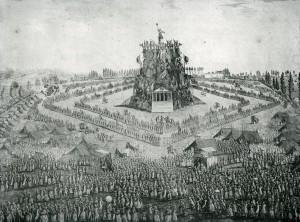 Fête de la Fédération 30 mai 1790 au Grand Camp (BMLyon fds Coste)