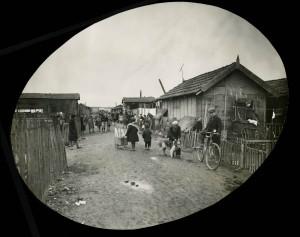 habitat précaire en 1932 , quartier des Poulettes (Fds Sylvestre, BMLyon)