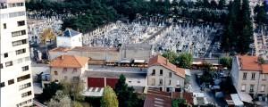 Cimetière de Cusset, photo Ville de Villeurbanne (1996)