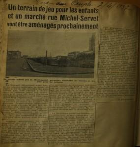 Article du 2 avril 1937 extrait du journal La Voix du peuple - AMV