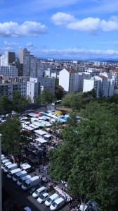 Le marché des Gratte-ciel en été 2019, photographie de Pierre-Damien Laurent