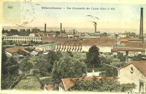 Vue d'ensemble des Usines Gillet et Fils : carte postale (AMV - 2Fi198