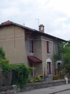 Maison de la rue Château-Gaillard (Photographie Aliénor Wagner).