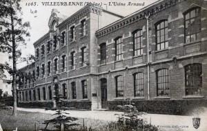 façade de l'imprimerie sur le cours Tolstoï (carte postale avant 1920).