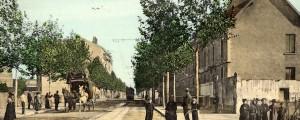 Cours Emile-Zola, carte postale couleur