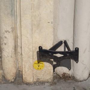 Décrottoir en fer forgé