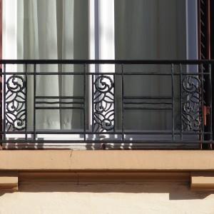 Détail fenêtre et garde corps